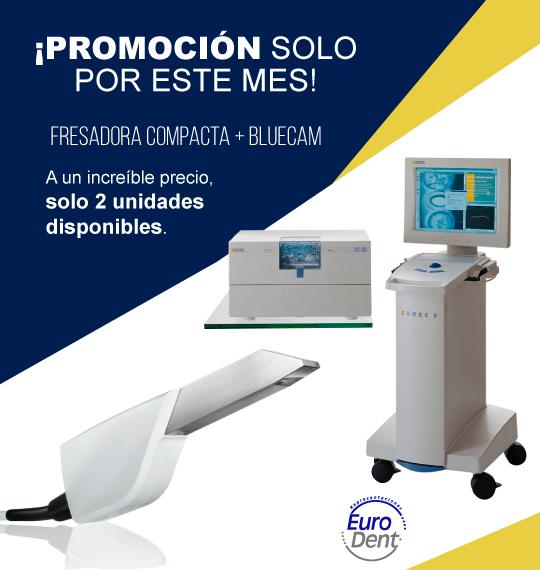 Eurodent Promoción Fresadora compacta + Bluecam